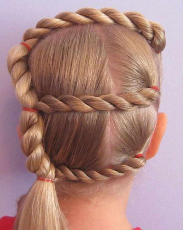 111 Quick And Cool Braids For Kids In 2019 Hair Styles Wacky Hair Cool Braid Hairstyles