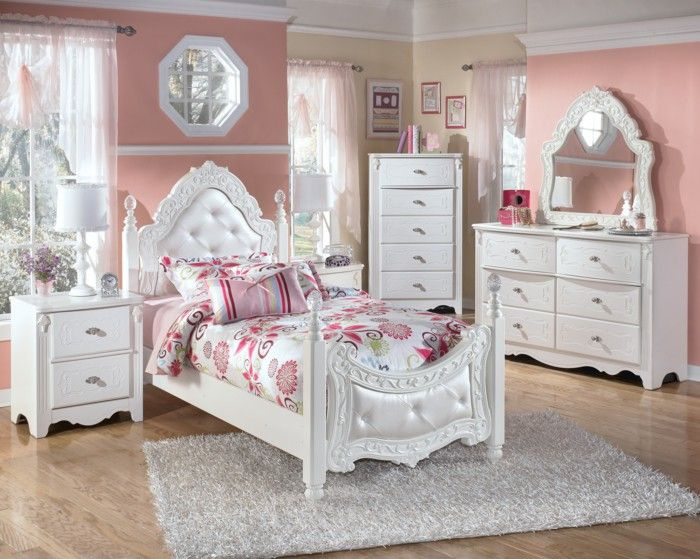 The Ashley Exquisite 3 Piece Twin Bedroom Set Are Sure To Lend A Decorative Appeal To Your Little Girl S Room The Ashley Exquisite 3 Piece Twin Bedroom Se