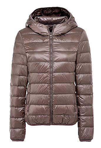 021b4ebdb1 SEASUM cappotto di piumino giacca con cappuccio donna down jacket ...
