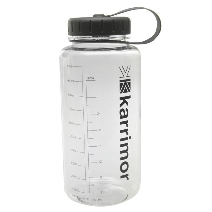 Karrimor | Karrimor 1 Litre Tritan Bottle | Water Bottles