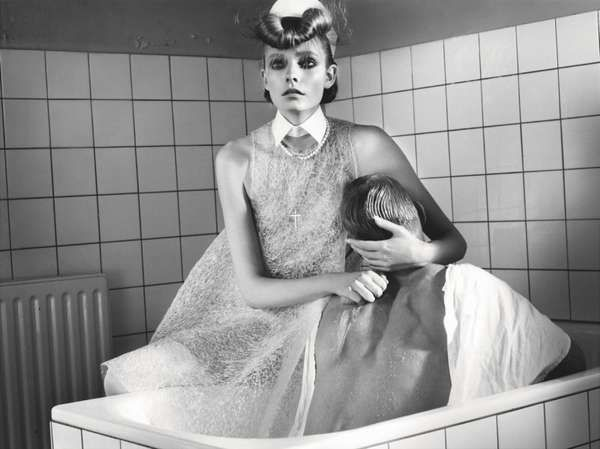 Stylish Nurse Shoots - The Nimue Smit W Korea Editorial Prescribes Retro Fashion (GALLERY)