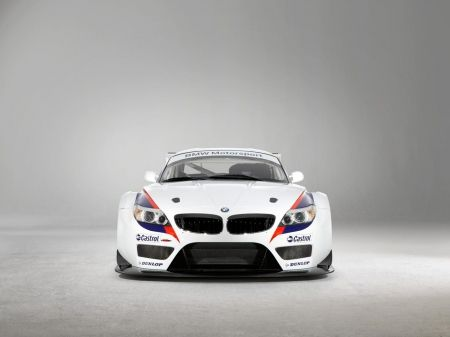 bmw z4 gt3 coupe - bmw, coupe, white, car