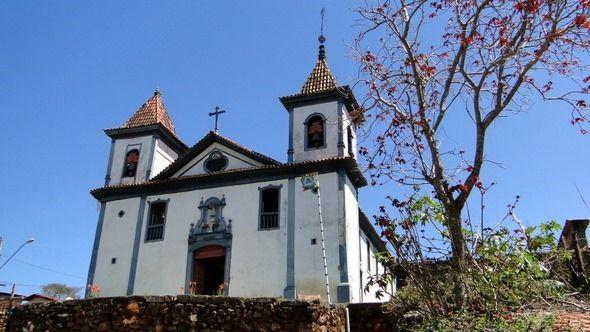 Santa Rita Durão, distrito de Mariana (MG) - Igreja Matriz de Nossa Senhora de Nazaré