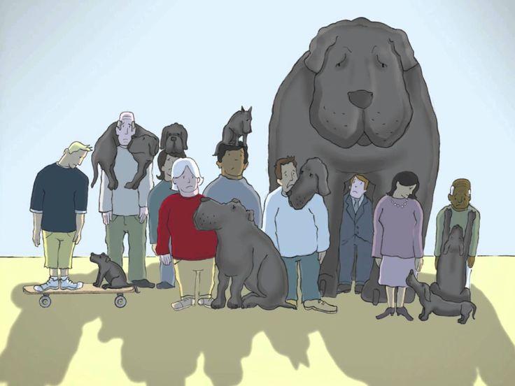 I had a black dog, his name was Depression - http://www.dravenstales.ch/i-had-a-black-dog-his-name-was-depression/
