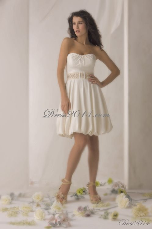 61 best Short Wedding Dresses images on Pinterest | Short wedding ...