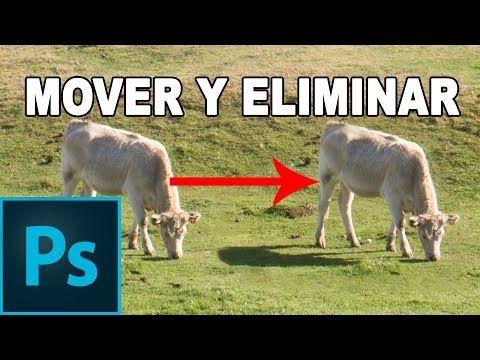 Mover y eliminar personas u objetos de una fotografía - Tutorial Photoshop en Español - YouTube