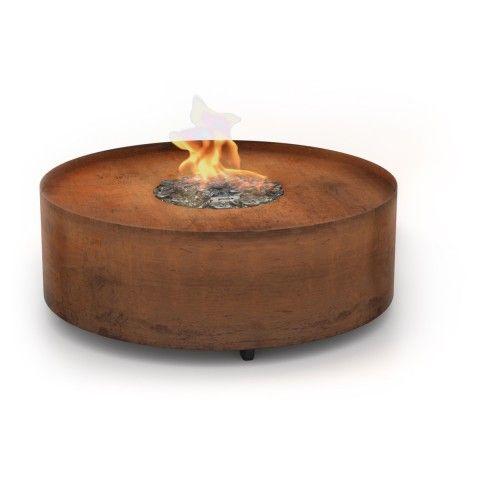 Kominek gazowy Planika Galio Fire Pit Corten - zobacz więcej na www.plejady24.pl