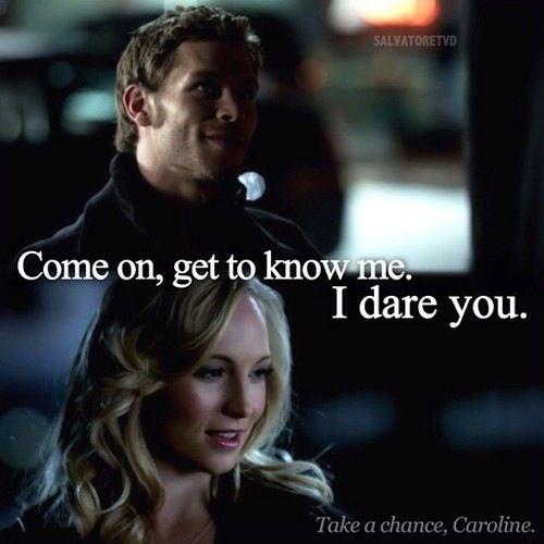 Vampire Diaries Love Quotes Klaus The Vampire Dia...