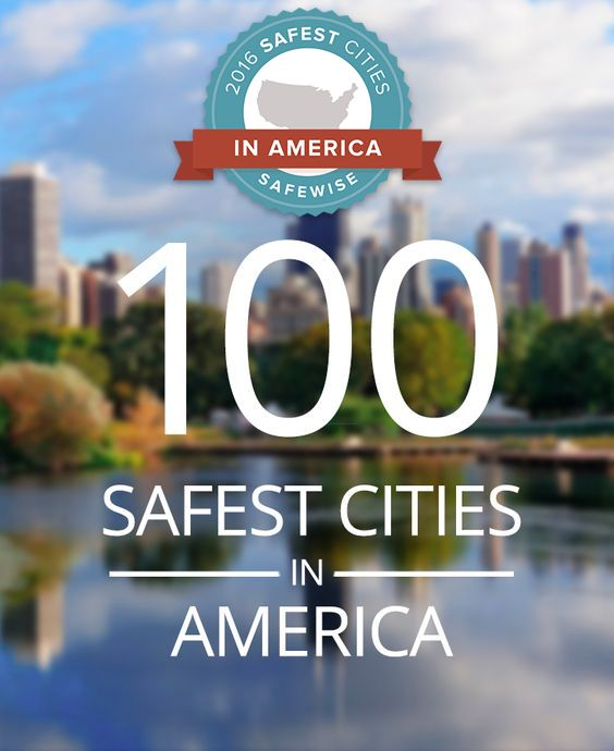 48 Best 2016 Safest Cities In America Images On Pinterest