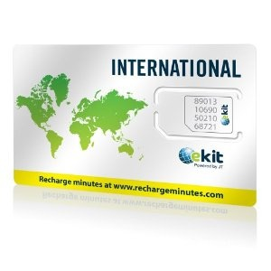 Amazon.com: Telestial Passport Lite International SIM card with $5.00 Credit for 190 countries: Cell Phones & Accessories