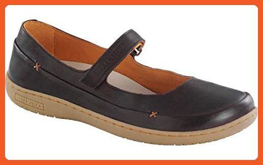 Birkenstock Women's Iona Dark Brown Leather 37 (US Women's 6-6.5) Narrow - Athletic shoes for women (*Amazon Partner-Link)