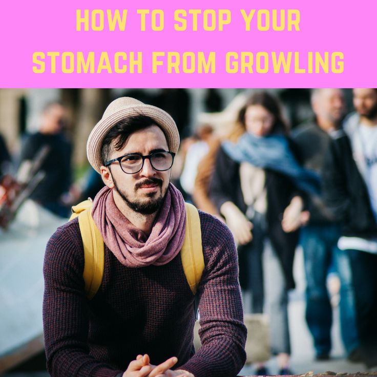 Stomach growling can be a normal part of normal digestion, but but sometimes those stomach noises can just be embarrassing. when rumbling noises can be a source of embarrassment. Here are some remedies from Medical News #1. Drink water. #2. Eating something (obviously). #3. Chew slowly. #4. Limit sugar, alcohol, and acidic foods #5. Avoid food and drink that cause gas, like beer, broccoli, onions, sodas, whole grains. #6. Discover food intolerances. #7. Practice portion control.