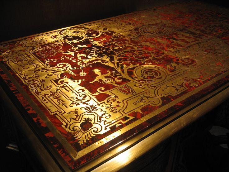 Torino Palazzo Madama tavolo rosso e oro #TuscanyAgriturismoGiratola