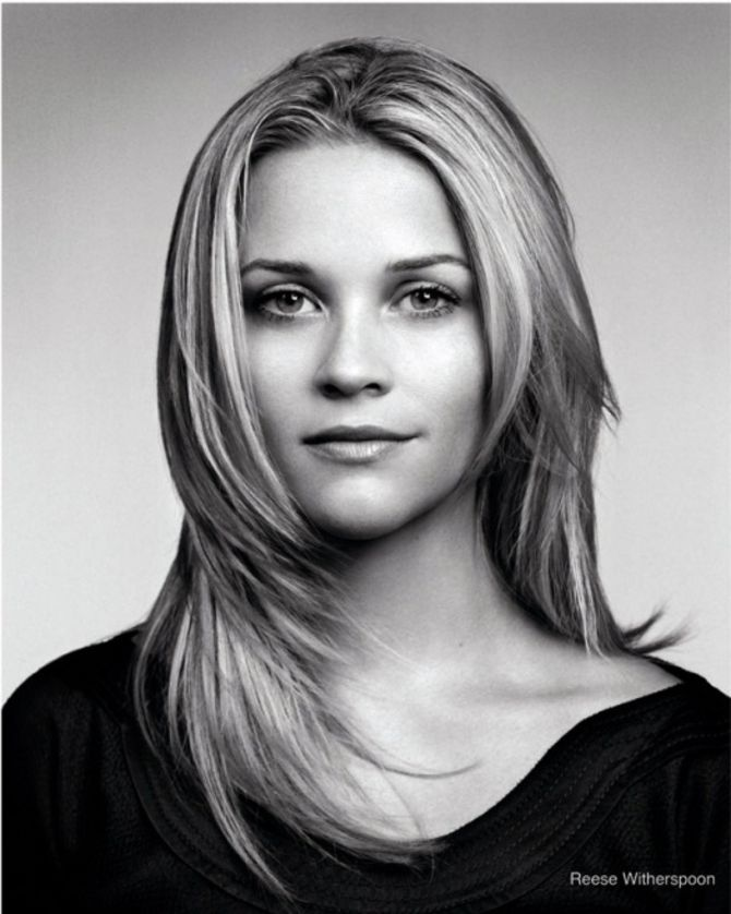 Reese Witherspoon - love the haircut.