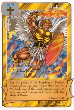 Redemption | Card Game: St. Michael the Archangel, defend us in battle...