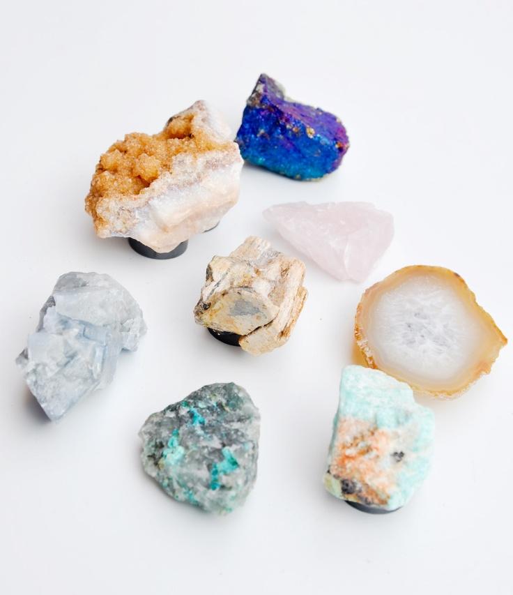 DIY Inspiration: Mineral Magnet Set