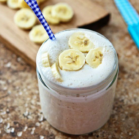 Banana Coconut Smoothie ~ taste the tropics & add some rum if you wish!