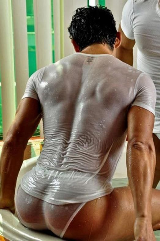 Big Wet White Butt 34
