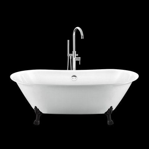 Les 25 meilleures id es concernant baignoire r tro sur pinterest maisons an - Baignoire patte de lion ...