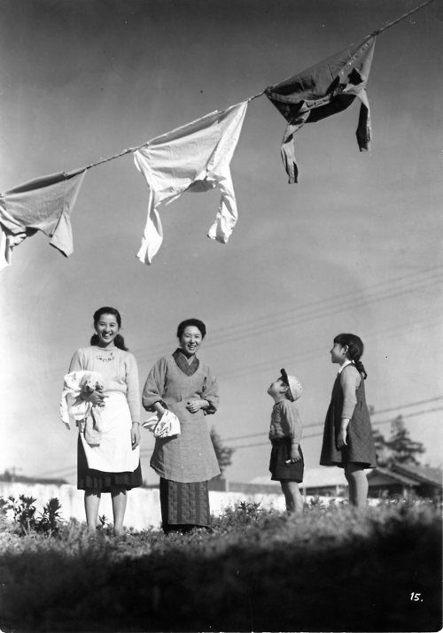 """Mother"" NARUSE Mikio ,1952."