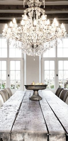 Rustieke tafel