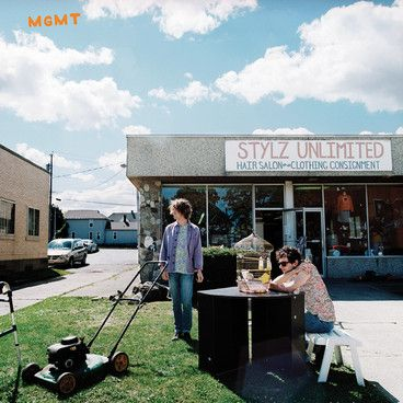 New MGMT album artwork. Self-titled 'MGMT' record will be out September 16!