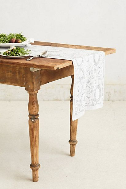 Soiree Table Runner #anthropologie