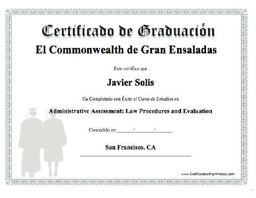 Títulos y certificados - Consejería de Educación y Deporte