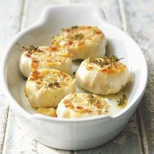 Oven-roasted garlic