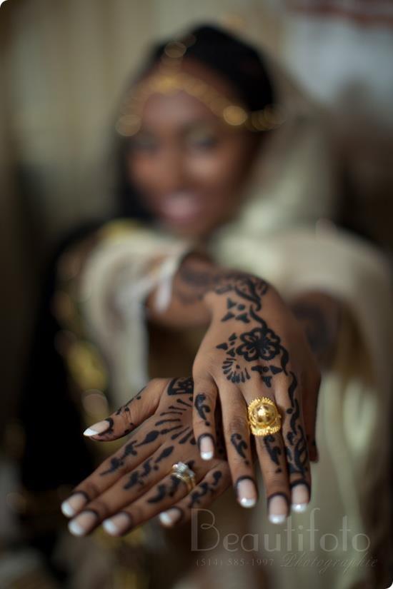 Ethiopian wedding henna