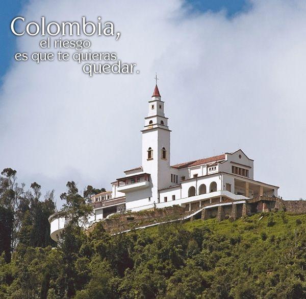 Cerro de Monserrate in Bogota, Colombia