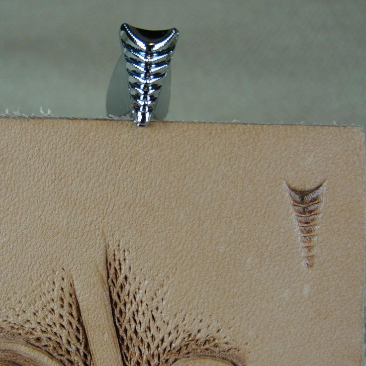 Leather Stamping Tool - Gang Mule's Foot