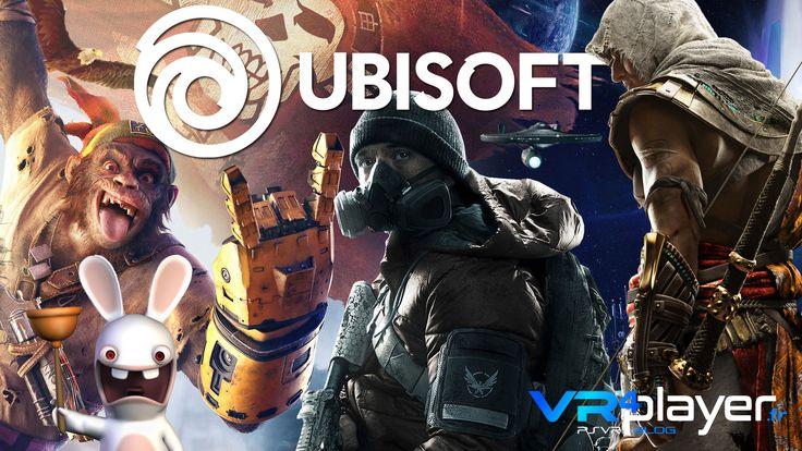 #PlayStationVR #PSVR  #RealiteVirtuelle #VR UBISOFT, les jeux vidéos et la VR made in France https://www.vrplayer.fr/ubisoft-playstation-vr-realite-virtuelle/