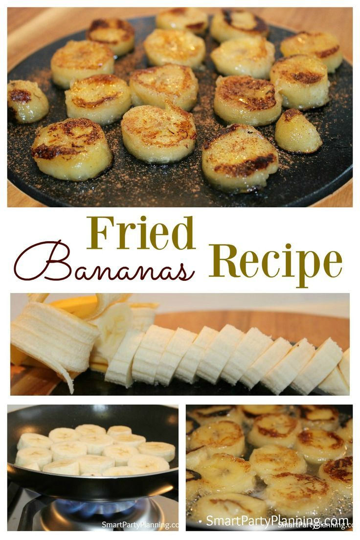 about Fried banana recipes on Pinterest   Fried honey bananas, Banana ...