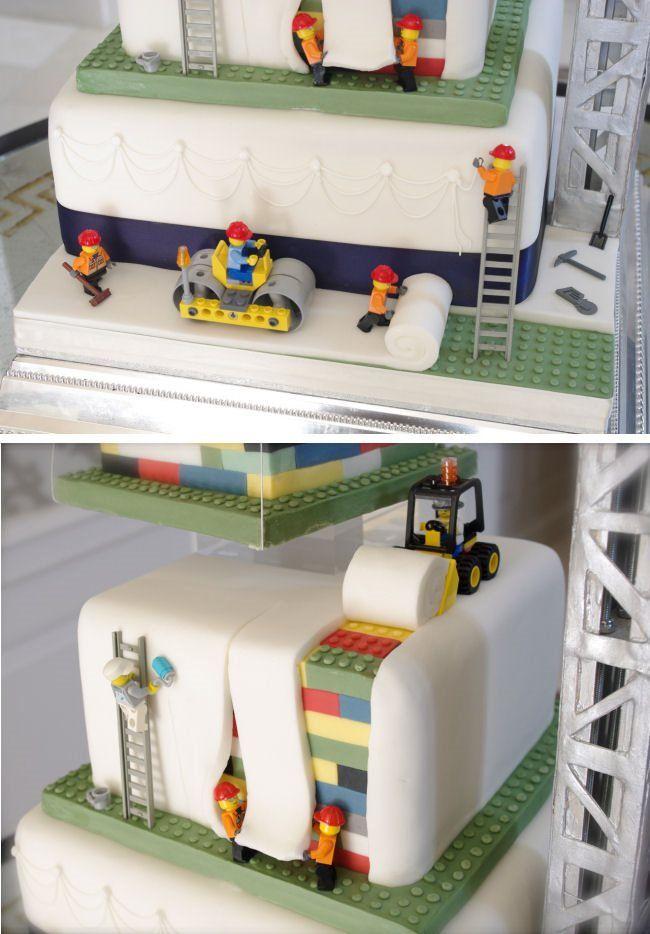Lego Wedding Cake by Mr Cake
