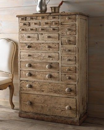 Storage galore and farmhouse style! Love!