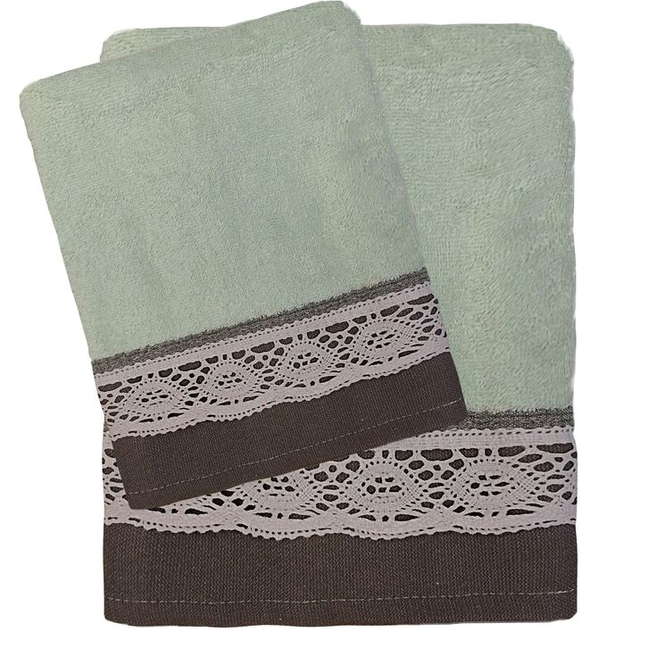 Das home .. Happy Towels Embroidery .. W-18