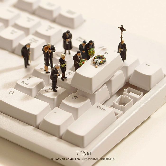 40+ Fun Miniature Dioramas By Japanese Artist Who's Been Creating Them Every Day For 5 Years