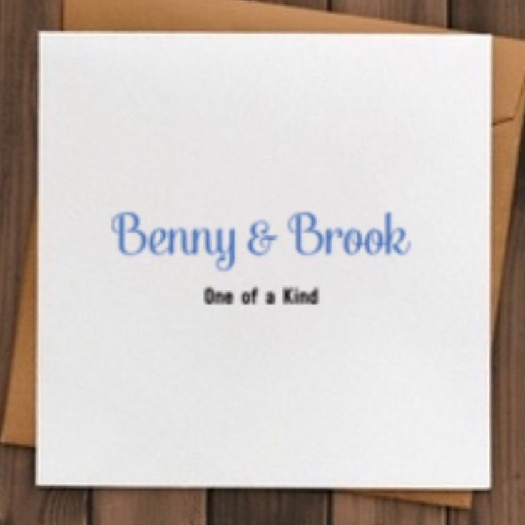 Browse unique items from BennyandBrook on Etsy, a global marketplace of handmade, vintage and creative goods.