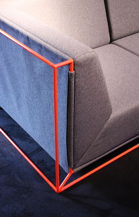 Sofa-detail by Philippe Nigro / #neon