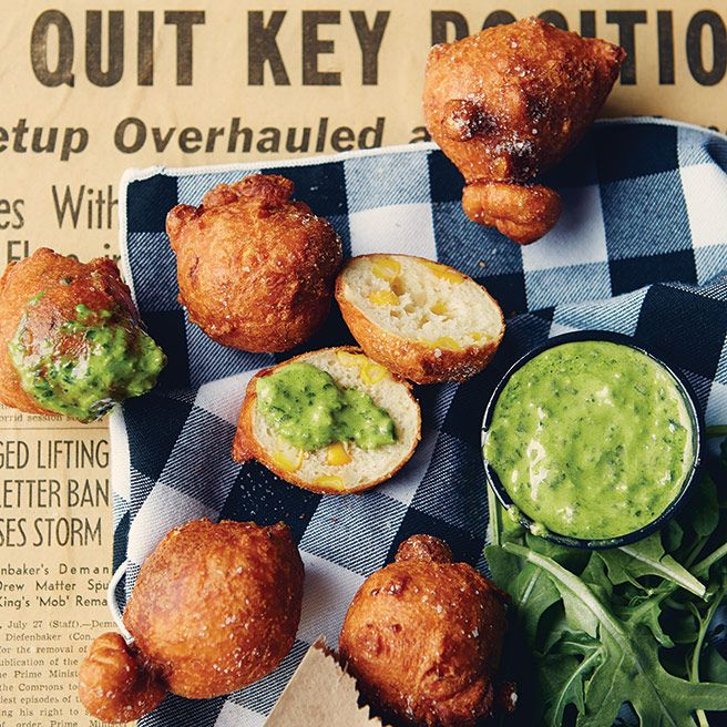 Toronto Life Cookbook 2013 Recipe: Creole Corn Fritters