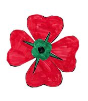 memorial day poppy craft