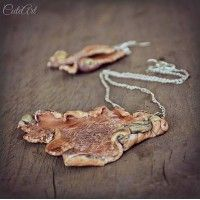 ...polymer clay - earrings and necklace..