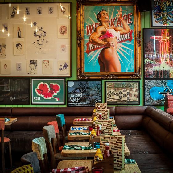 Urban artists go all out at blinding Shoreditch bar...