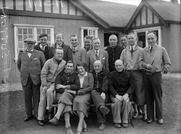 Irish Independent - Golf Special: Sutton Golf Club - Group of men by Independent Newspapers (Firm) Published / Created: 1936 In collection: The Independent Newspapers (Ireland) Collection