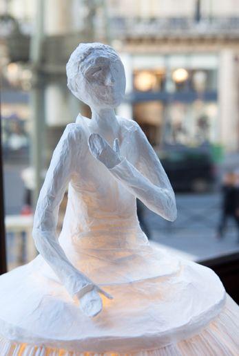 sculptures lumineuses by Sophie Mouton-Perrat & Frédéric Guibrunet