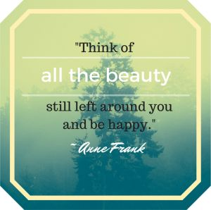 Beauty quote by Anne Frank