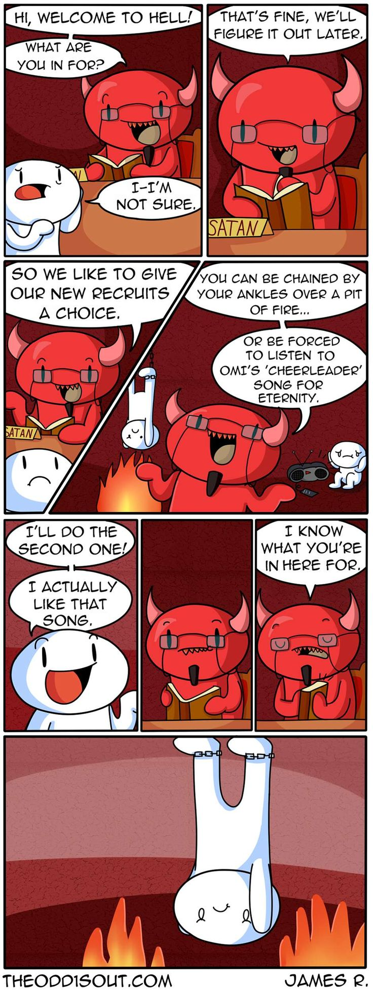 Theodd1sout :: Choose Your Torture | Tapastic Comics - image 1