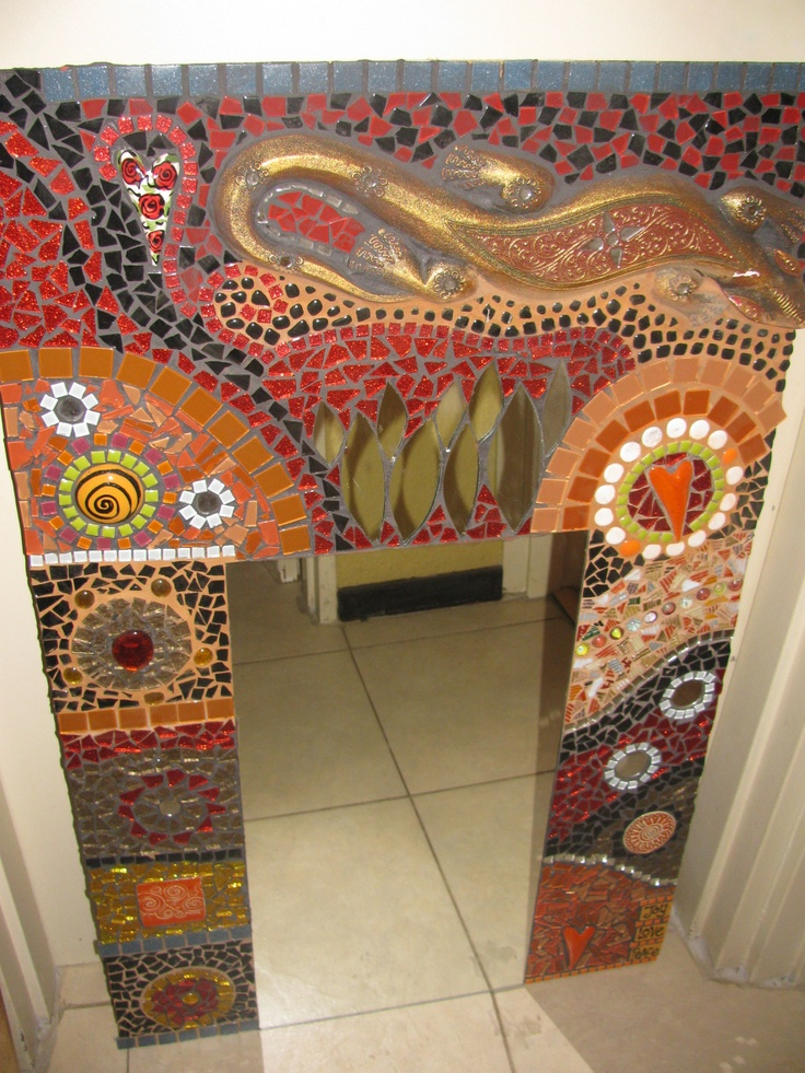 The second mosaic I did