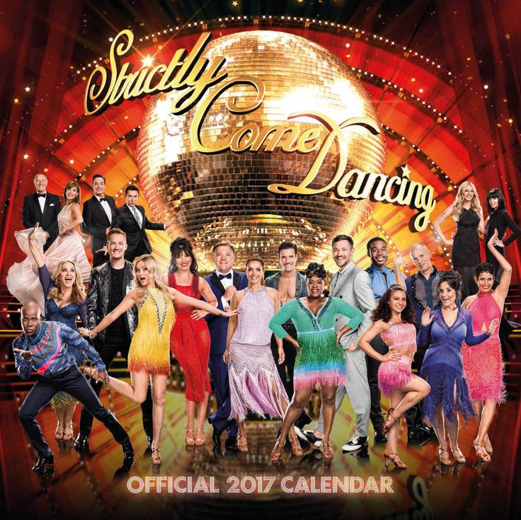 New Official BBC Strictly Come Dancing 2017 Calendar available with FREE UK P&P (plus worldwide delivery available) at http://bit.ly/TVCals2017
